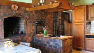 une partie de la cuisine