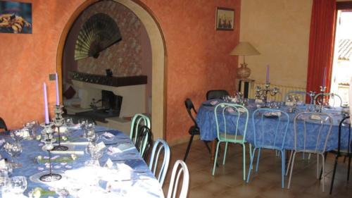 salle à manger de fête